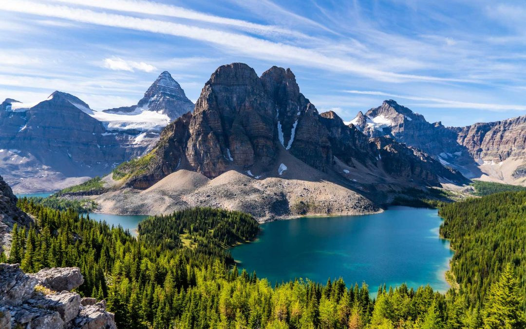 Mt Assiniboine is one of the best adventure trips in Canada.