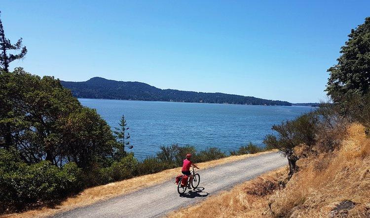 Cyclist on Into The Wild Torus
