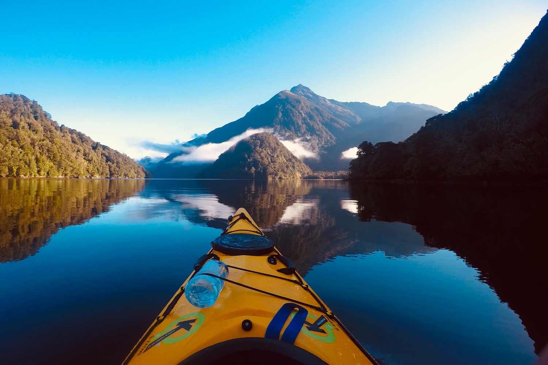 Sea Kayaking in British Columbia, Canada.